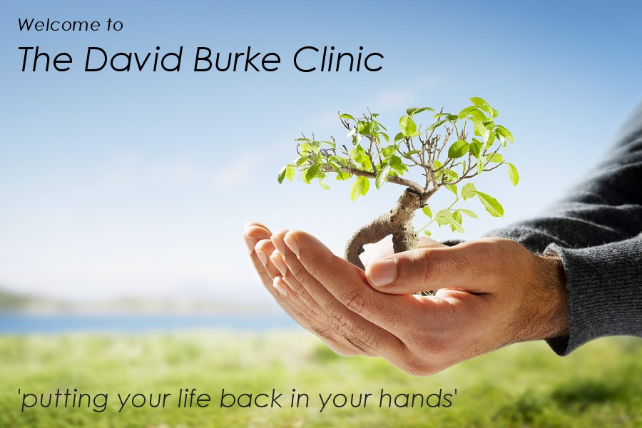 The David Burke Clinic Waterford Ireland - Hypnotherapy Waterford, Naturopath, Herbalist, Sports Psychologiy, Nutritionalist